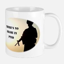 No Shame in PTSD Mugs