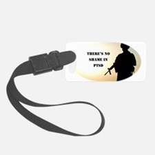 No Shame in PTSD Luggage Tag