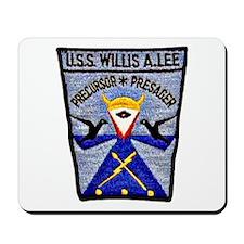 USS WILLIS A. LEE Mousepad