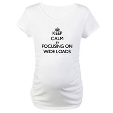 Keep Calm by focusing on Wide Lo Shirt