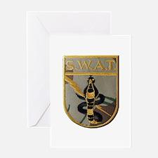 SWAT Greeting Cards