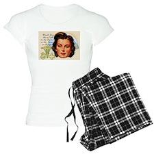 Nurse in Charge Vintage Des Pajamas