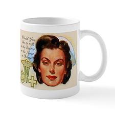 Nurse In Charge Vintage Design Mugs