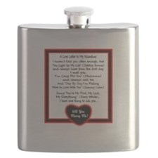 A Love Letter/t-shirt Flask