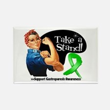 Gastroparesis Stand Rectangle Magnet