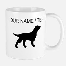 Custom Flat-Coated Retriever Silhouette Mugs
