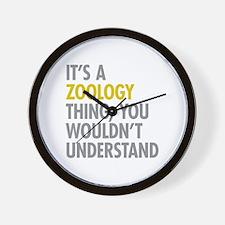 Its A Zoology Thing Wall Clock