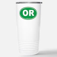 Oregon OR Euro Oval Travel Mug