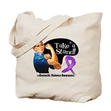 Domestic Violence Stand Tote Bag
