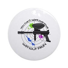 Spell Paintball Ornament (Round)