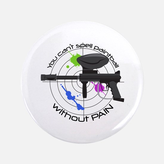 "Spell Paintball 3.5"" Button"
