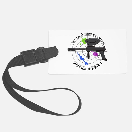 Spell Paintball Luggage Tag