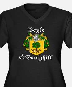 Boyle in Irish & English Plus Size V-Neck Tee