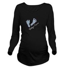 Cute Long Sleeve Maternity T-Shirt