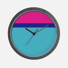 frozen color pink blue ice queen Wall Clock