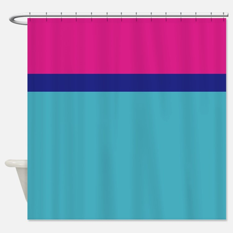 frozen color pink blue ice queen Shower Curtain