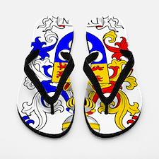 Dungan Coat of Arms Flip Flops