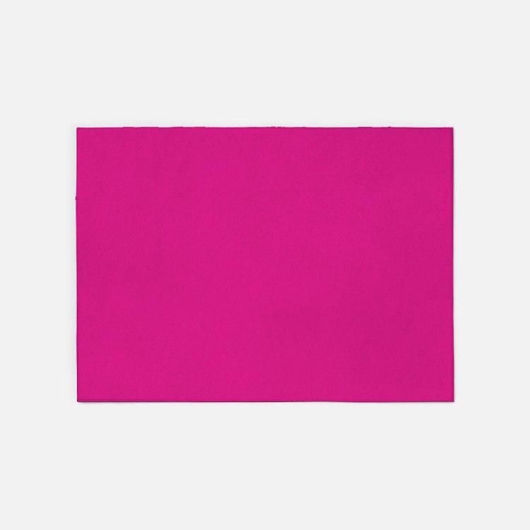 Frozen pink 5x7 5'x7'Area Rug