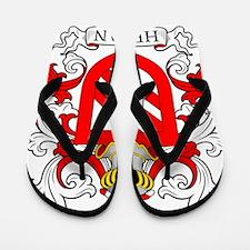 Helman Coat of Arms Flip Flops