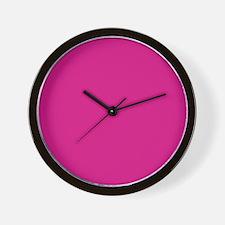 frozen pink queen Wall Clock