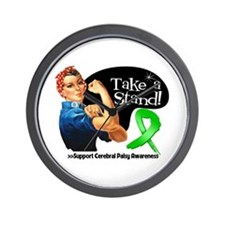 Cerebral Palsy Stand Wall Clock