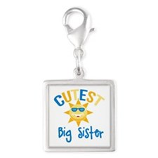Cutest Big Sister Sunshine Charms