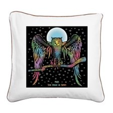Owl You Need Square Canvas Pillow