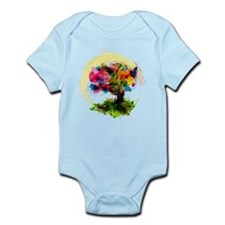 Watercolor Tree of Life Body Suit