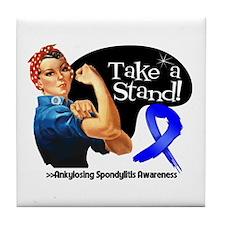 Ankylosing Spondylitis Stand Tile Coaster