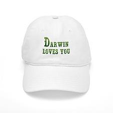 Darwin Loves You Baseball Baseball Cap