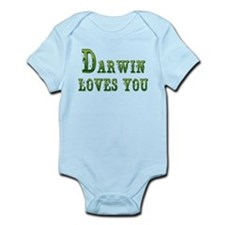 Darwin Loves You Body Suit
