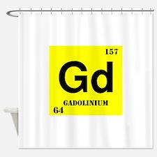 Gadoliunium Shower Curtain