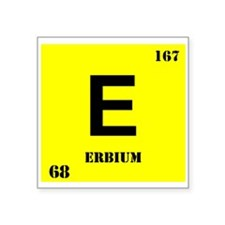 Erbium Sticker