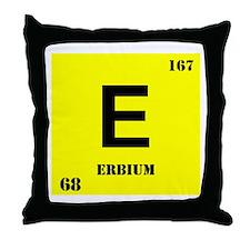 Erbium Throw Pillow