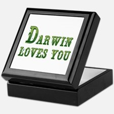 Darwin Loves You Keepsake Box