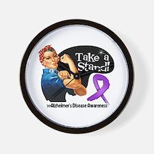 Alzheimers Disease Stand Wall Clock