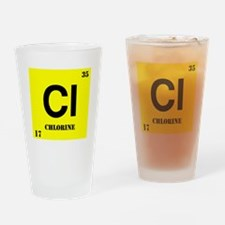 Chlorine Drinking Glass