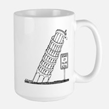 Galileo Cartoon 0958 Large Mug