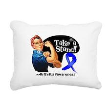 Arthritis Stand Rectangular Canvas Pillow