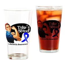 Arthritis Stand Drinking Glass