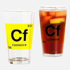 Californium Drinking Glass