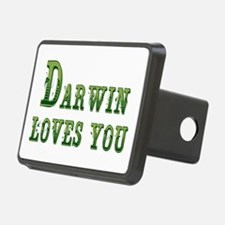 Darwin Loves You Hitch Cover