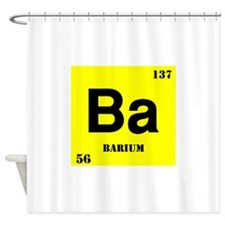 Barium Shower Curtain