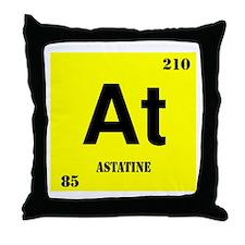 Astatine Throw Pillow