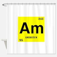 Americium Shower Curtain