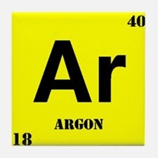 Periodic Table Argon Coasters | Cork, Puzzle & Tile ...