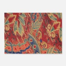 Floral Tapestry 5'x7'Area Rug