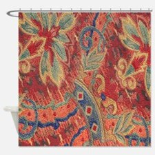 Floral Tapestry Shower Curtain
