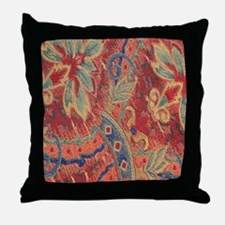 Floral Tapestry Throw Pillow