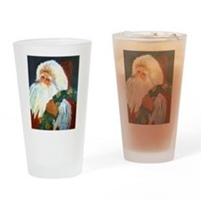 Old Fashion Santa Drinking Glass